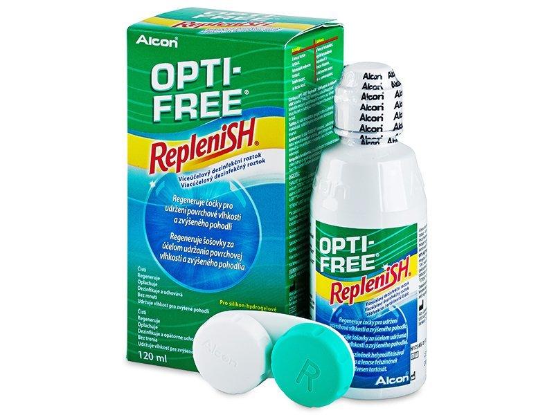 f93faa1d7 OPTI-FREE RepleniSH 120 ml - Čistiaci roztok - Alcon