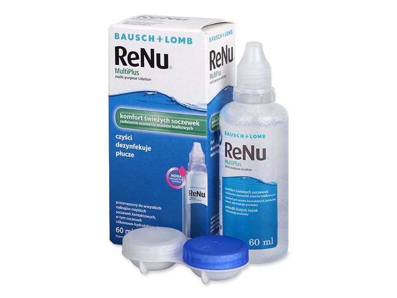 ReNu MultiPlus 60 ml  - Čistiaci roztok - Bausch and Lomb