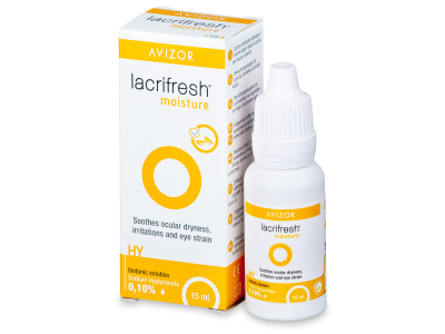 Očné kvapky Avizor Lacrifresh Moisture 15ml  - Starší vzhľad