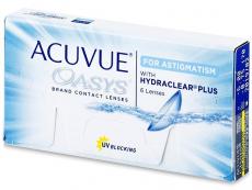 Dvojtýždenné kontaktné šošovky - Acuvue Oasys for Astigmatism (6šošoviek)