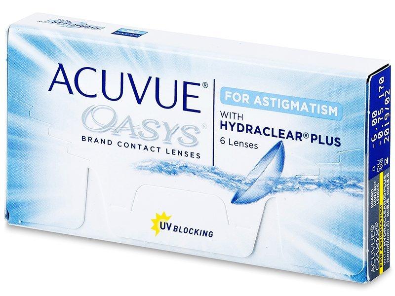 Acuvue Oasys for Astigmatism (6šošoviek) - Torické kontaktné šošovky - Johnson and Johnson