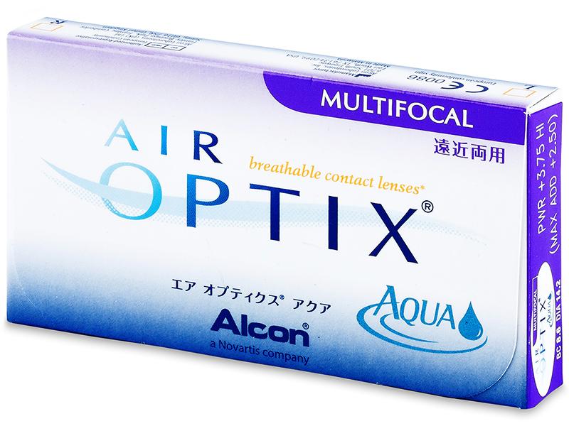 Air Optix Aqua Multifocal (3šošovky) - Starší vzhľad