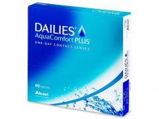Kontaktné šošovky - Dailies AquaComfort Plus (90šošoviek)
