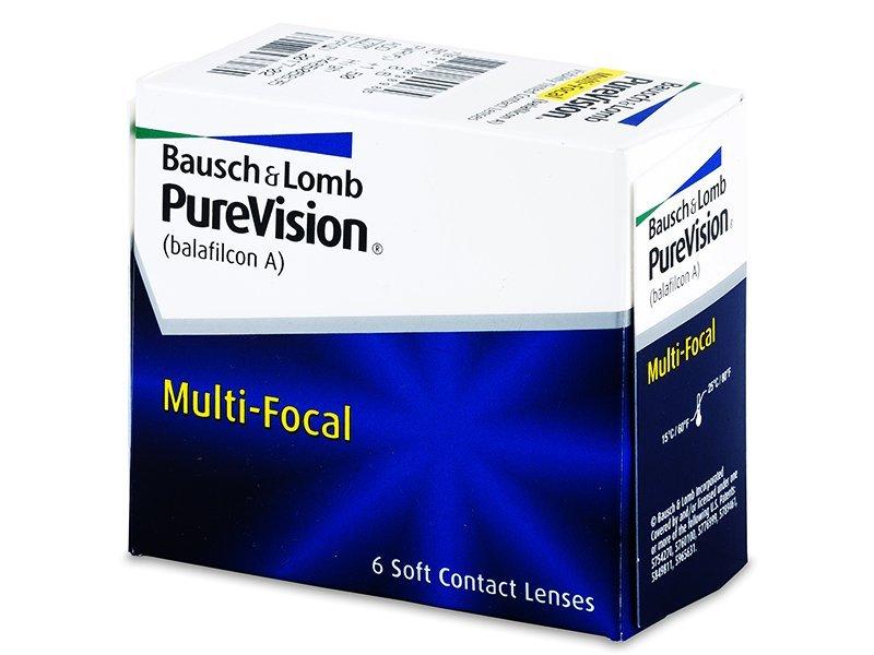 PureVision Multi-Focal (6šošoviek) - Multifokálne kontaktné šošovky - Bausch and Lomb