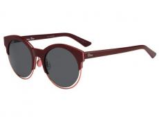 Slnečné okuliare okrúhle - Christian Dior DIORSIDERAL1 RMD/BN