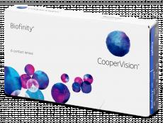 Mesačné kontaktné šošovky - Biofinity (6šošoviek)