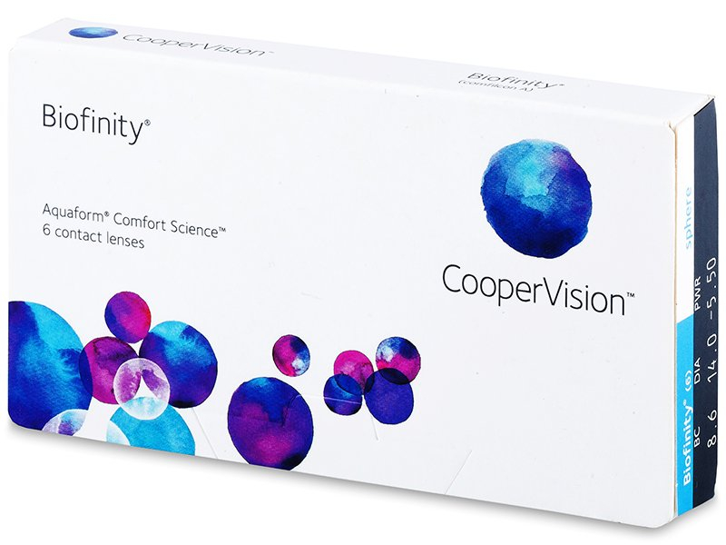 Mesačné kontaktné šošovky