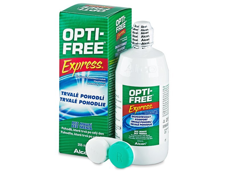 OPTI-FREE Express 355ml  - Čistiaci roztok - Alcon