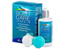 Roztoky na kontaktné šošovky - SoloCare Aqua 90ml