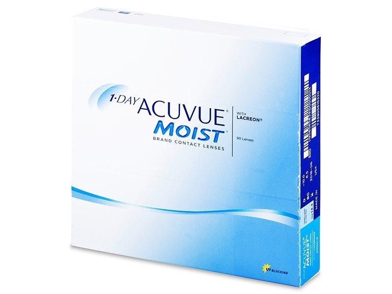 1 Day Acuvue Moist (90šošoviek) - Jednodenné kontaktné šošovky