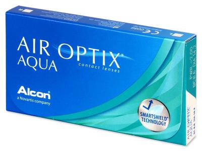 Air Optix Aqua (6šošoviek) - Mesačné kontaktné šošovky