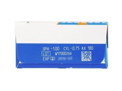 Náhľad parametrov šošoviek - SofLens Daily Disposable Toric (30šošoviek)
