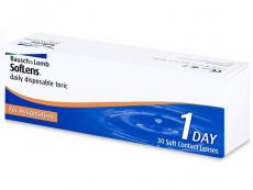 Torické (astigmatické) kontaktné šošovky - SofLens Daily Disposable Toric (30šošoviek)