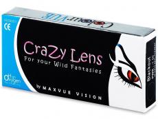 Kontaktné šošovky Maxvue Vision - ColourVUE Crazy Lens - dioptrické štvrťročné (2šošovky)