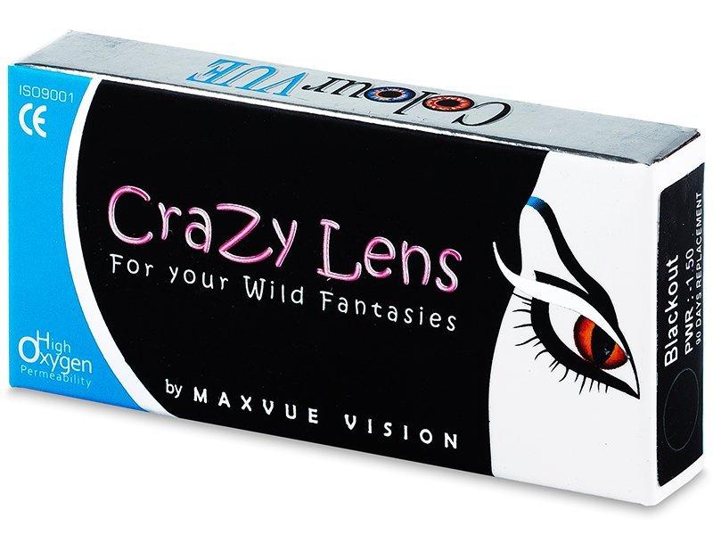 1f39af3ae ColourVUE Crazy Lens - dioptrické štvrťročné (2 šošovky)