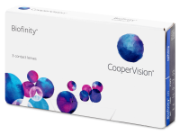 Biofinity (3šošovky) -  Monthly contact lenses