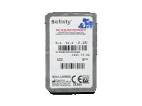 Biofinity (3šošovky) - Vzhľad blistra so šošovkou