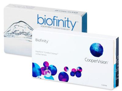 Starší vzhľad - Biofinity (3šošovky)