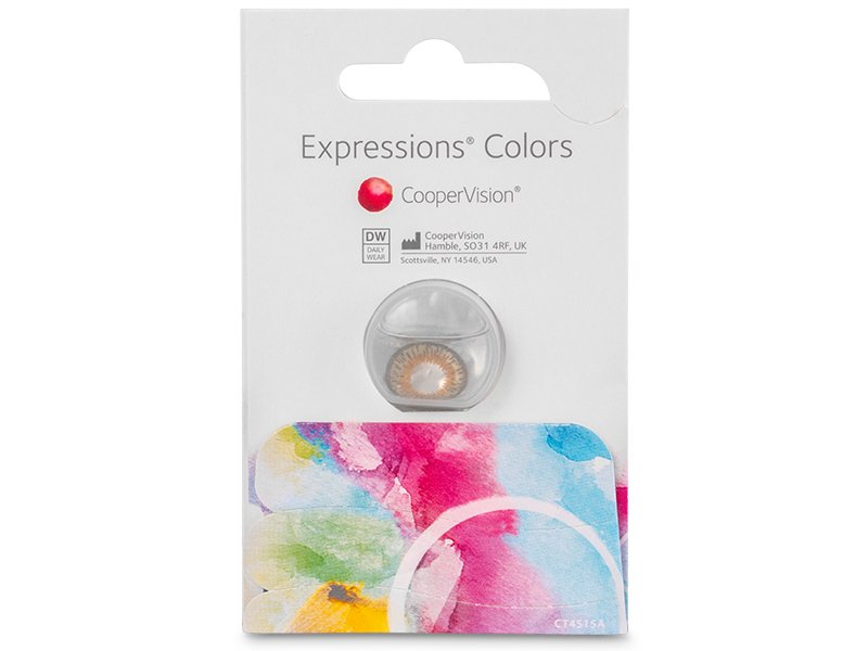 Nedioptrické farebné šošovky Expressions Colors 881a7610cf1