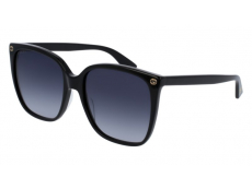 Slnečné okuliare Oversize - Gucci GG0022S-001