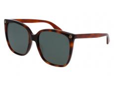 Slnečné okuliare Oversize - Gucci GG0022S-002