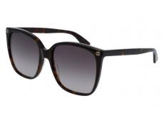Slnečné okuliare Oversize - Gucci GG0022S-003