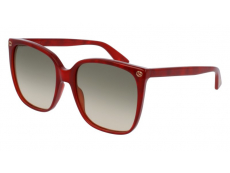 Slnečné okuliare Oversize - Gucci GG0022S-006