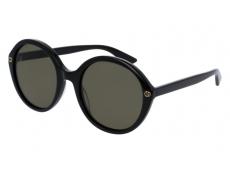 Slnečné okuliare oválne - Gucci GG0023S-001