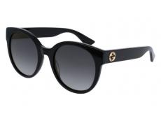 Slnečné okuliare oválne - Gucci GG0035S-001