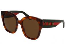 Slnečné okuliare Oversize - Gucci GG0059S-002