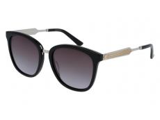 Slnečné okuliare oválne - Gucci GG0073S-001