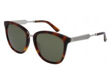 Slnečné okuliare oválne - Gucci GG0073S-003