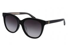 Slnečné okuliare oválne - Gucci GG0081SK-001
