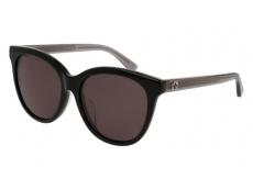 Slnečné okuliare oválne - Gucci GG0081SK-002