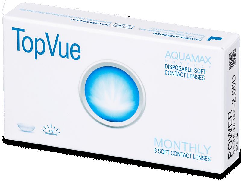 TopVue Monthly (6šošoviek) - Mesačné kontaktné šošovky