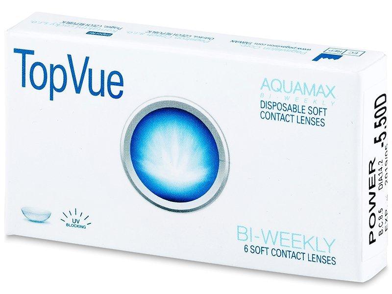 TopVue Bi-weekly (6šošoviek) - Štrnásťdenné kontaktné šošovky - TopVue