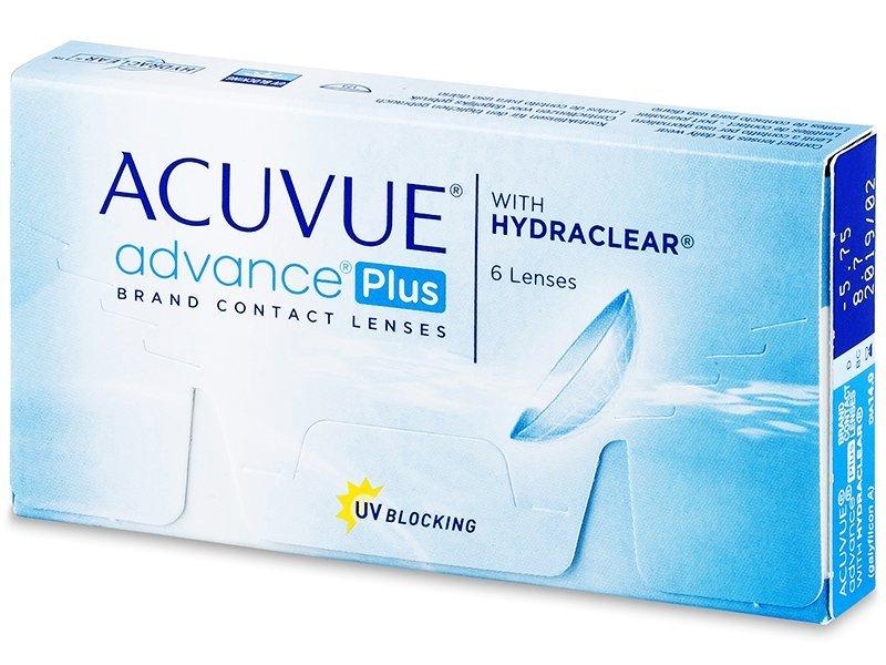 Acuvue Advance PLUS (6šošoviek) - Štrnásťdenné kontaktné šošovky - Johnson and Johnson