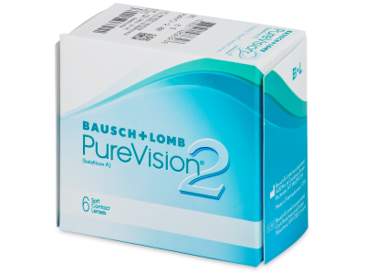 PureVision 2 (6šošoviek) - Mesačné kontaktné šošovky