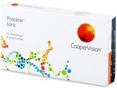 Torické (astigmatické) kontaktné šošovky - Proclear Toric (6šošoviek)