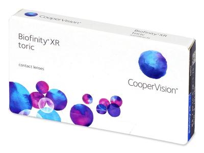 Biofinity XR Toric (3 šošovky) - Torické kontaktné šošovky