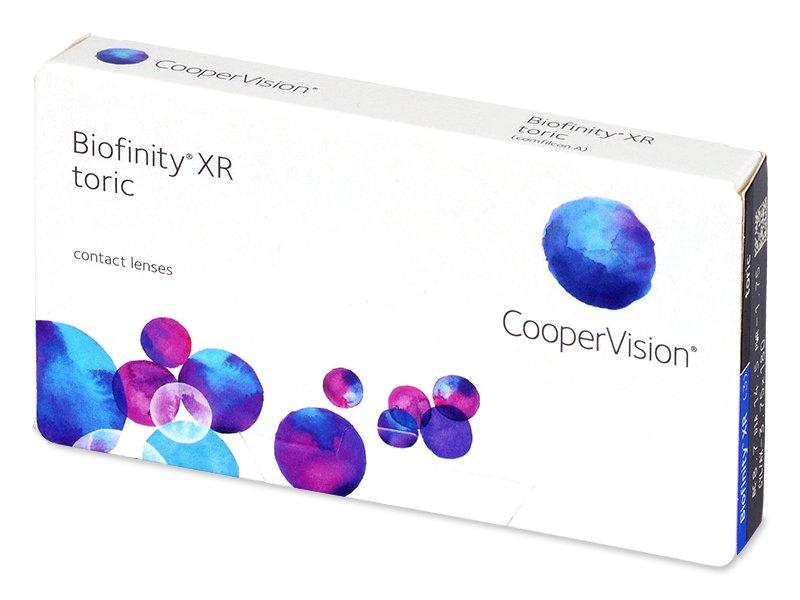 Biofinity XR Toric (3 šošovky) - Torické kontaktné šošovky - Cooper Vision