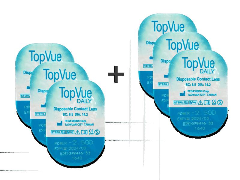 b6c929fe1 TopVue Daily (3 + 3 šošovky) od €