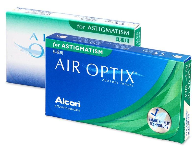Air Optix for Astigmatism (6šošoviek) - Torické kontaktné šošovky - Alcon