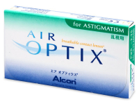 Air Optix for Astigmatism (6šošoviek) - Starší vzhľad