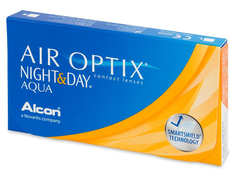 Air Optix Night and Day Aqua (3šošovky) - Mesačné kontaktné šošovky