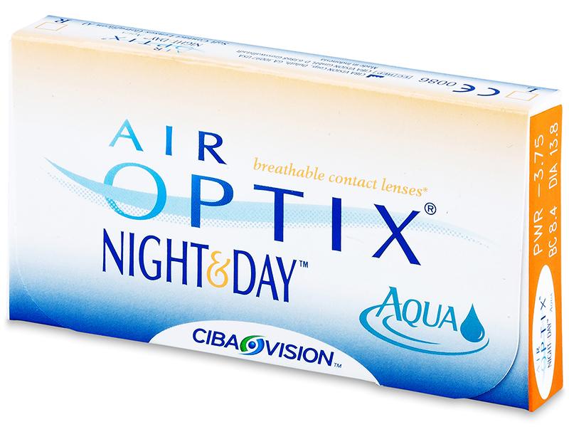 Air Optix Night and Day Aqua (3šošovky) - Starší vzhľad