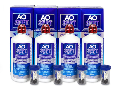 AO SEPT PLUS HydraGlyde 4 x 360 ml