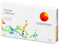 Multifokálne kontaktné šošovky - Proclear Multifocal (6šošoviek)