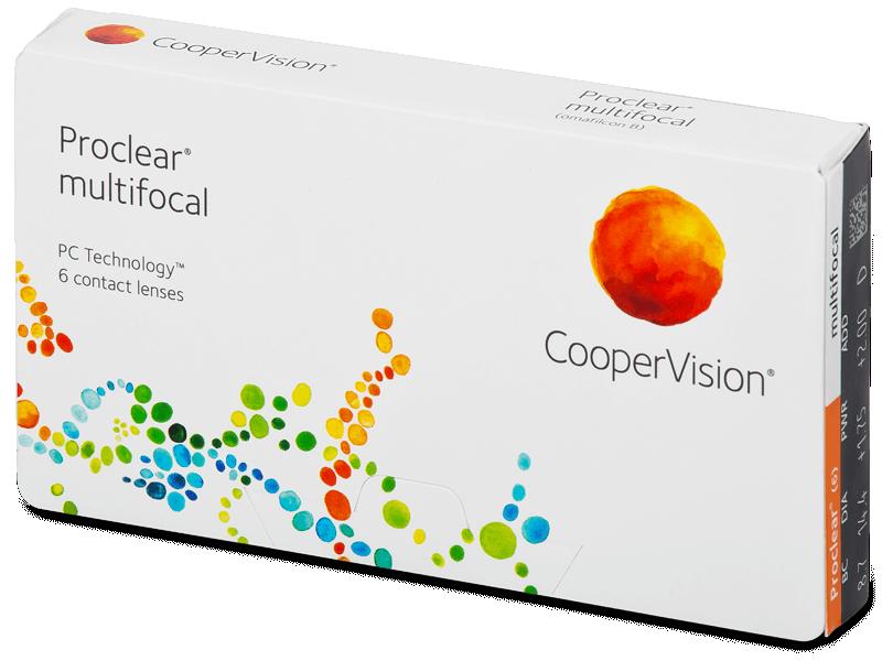 Proclear Multifocal (6šošoviek) - Multifokálne kontaktné šošovky